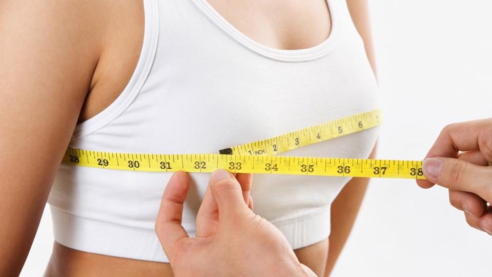 Форма и размер женской груди: как определить