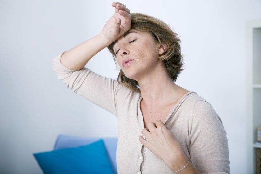 Болит и чешется грудь при климаксе