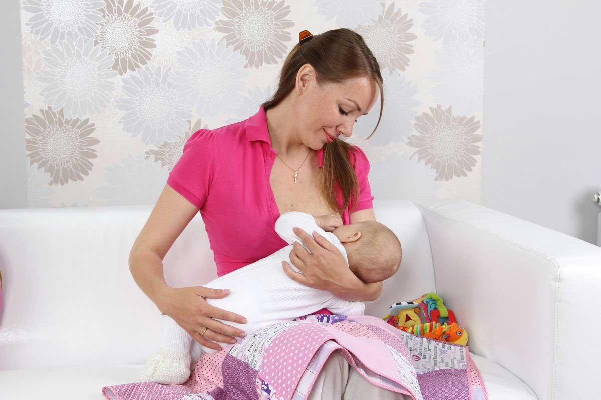 месячные во время грудного вскармливания