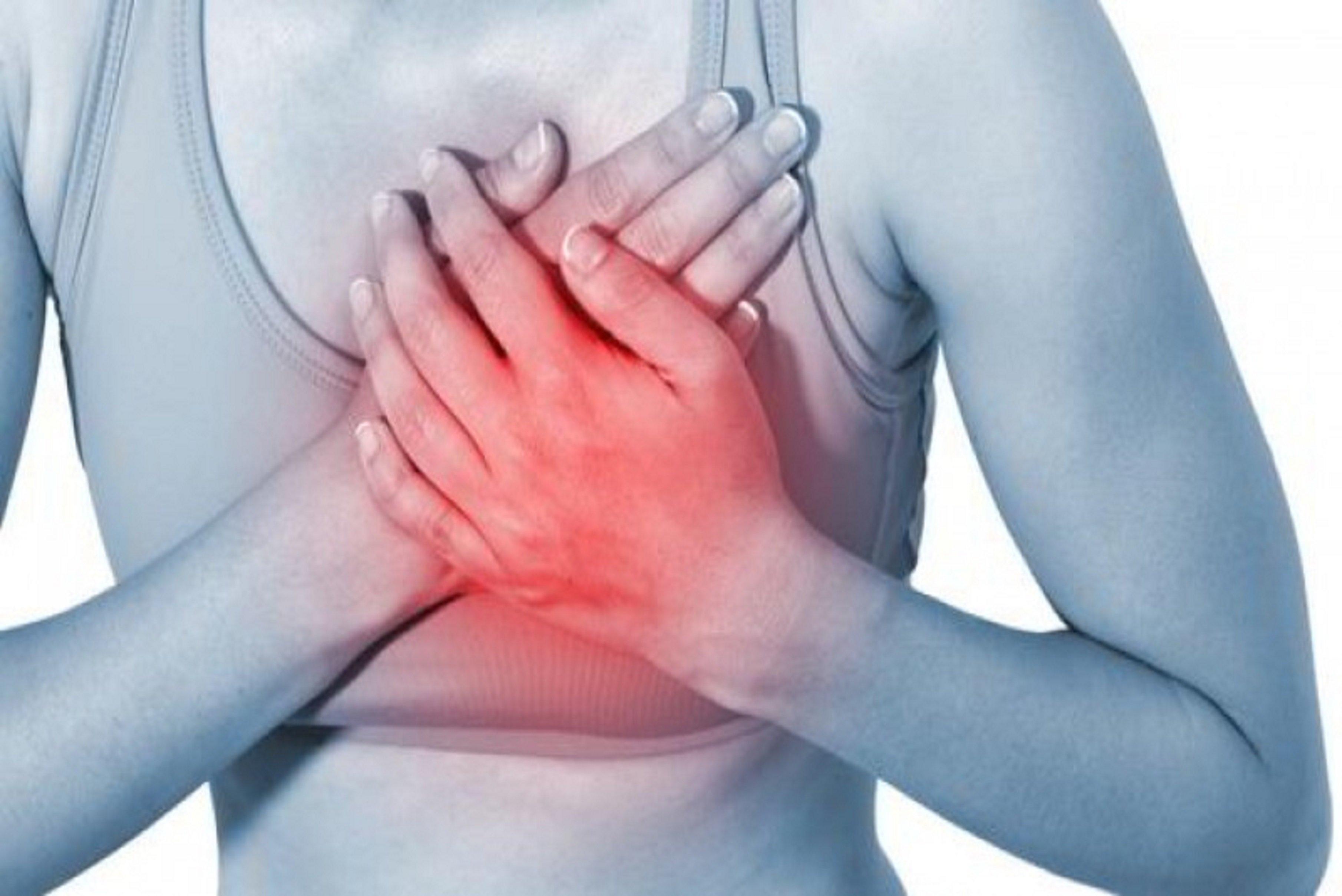 Причины жжения в груди слева