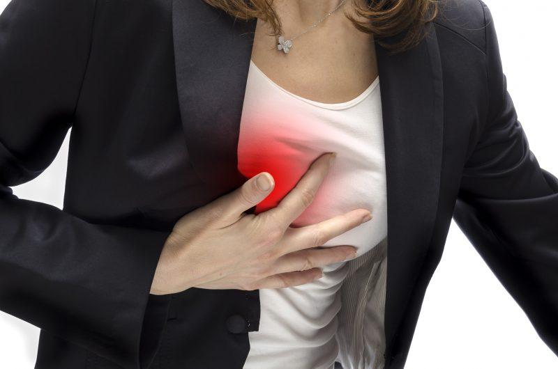 боль в правой груди