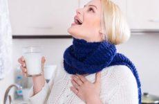 Чем лечить горло при ГВ: обзор эффективных средств, разрешенных кормящих мамам