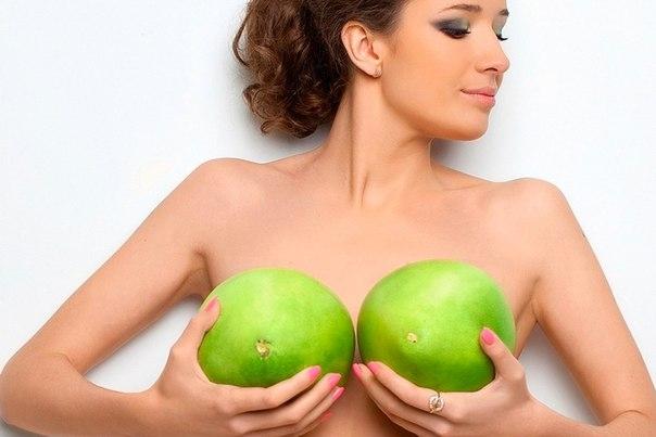 Продукты для роста груди