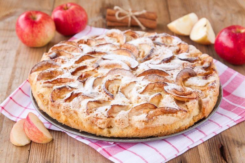 Яблочный пирог при ГВ