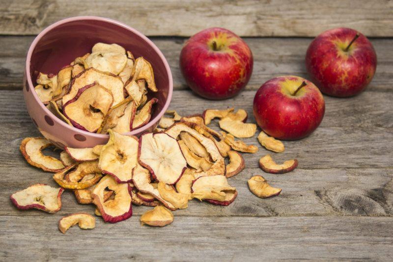 Сушеные яблоки при ГВ