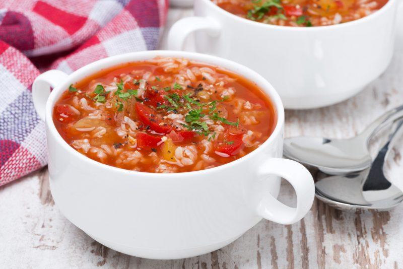 Рисовый суп при гв