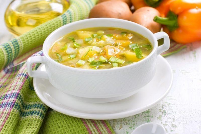Весенний суп при гв