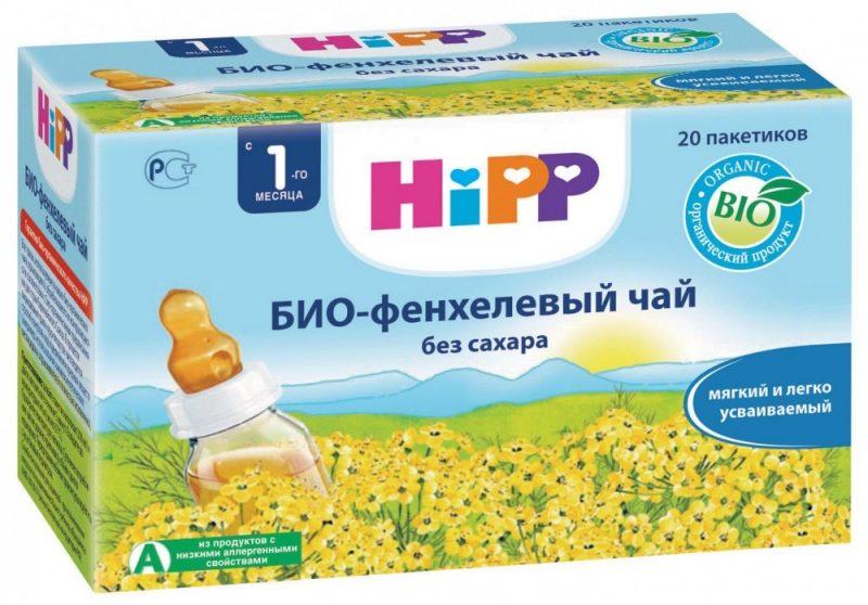 "Чай с фенхелем от ""Hipp"""