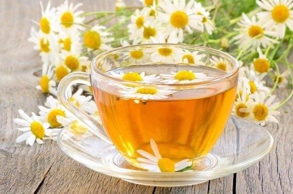 Ромашковый чай при гв