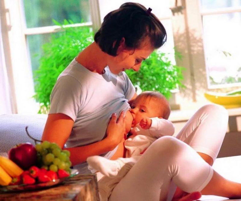 Через сколько еда попадает в грудное молоко