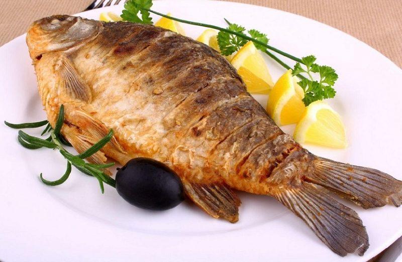 Жареная рыба при гв