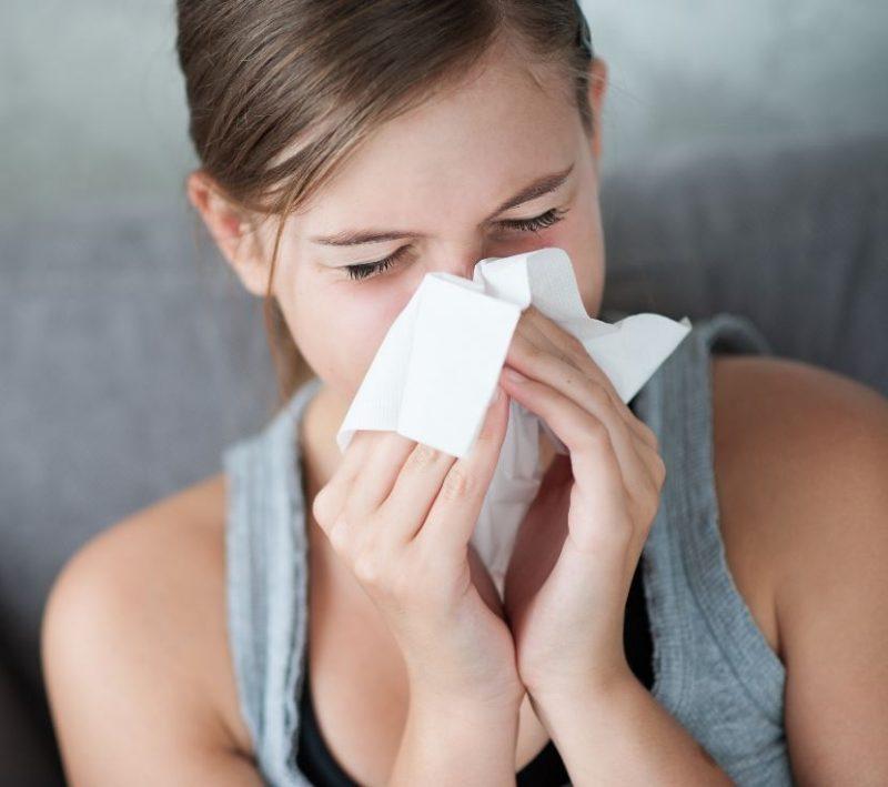 Лечение насморка при лактации